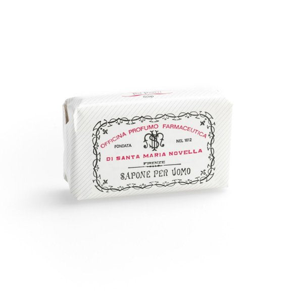 Santa Maria Novella Men's Soap in Patchouli, Single Bar-Soaps-Sterling-and-Burke