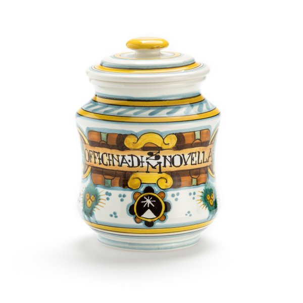 Santa Maria Novella Pot Pourri in Hand Painted Jar, 200g-Room Fragrances-Sterling-and-Burke