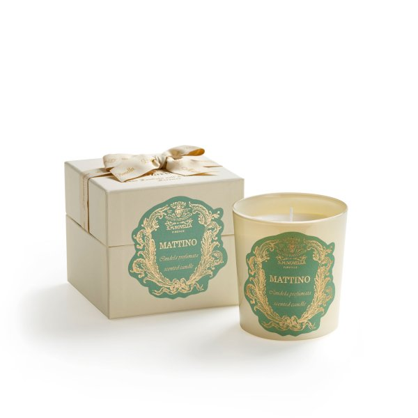 Santa Maria Novella Mattino Scented Candle-Wax Product-Sterling-and-Burke