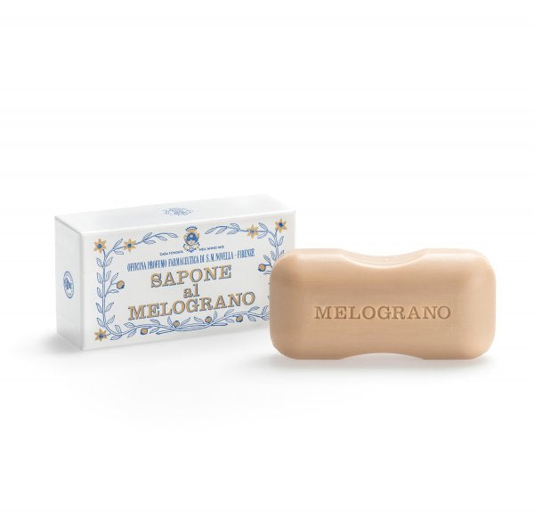 Santa Maria Novella Pomegranate Bath Soap, Single Bar-Soaps-Sterling-and-Burke