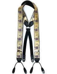 Budd Braces Limited Edition Simon Drew Sitting Duck-Braces / Suspenders-Sterling-and-Burke