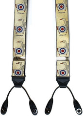 Simon Drew Sitting Duck Braces, Limited Edition | Suspenders | Budd Shirtmakers | Made in England-Braces / Suspenders-Sterling-and-Burke