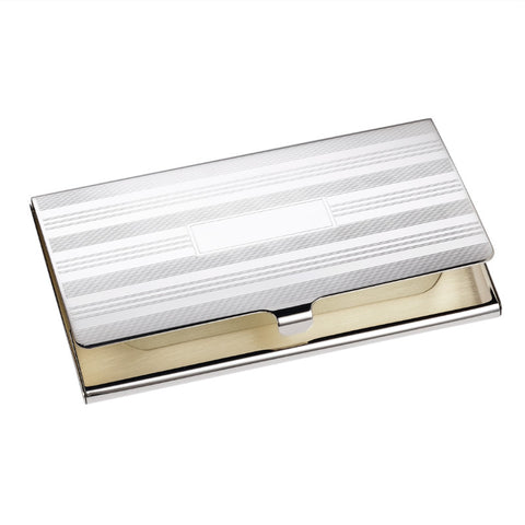 sterling silver business card case holder engine turn sterling silver business card holder - Silver Business Card Holder