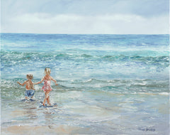 "Art | Sweet Big Sister by Claire Howard | Giclee | 21"" x 27""-Giclee Print-Sterling-and-Burke"