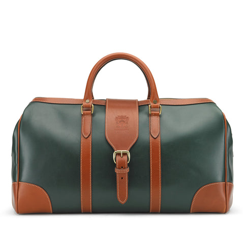 Chellington Holdall | Leather Duffle Bag | Various Colors | Tusting | Made in England
