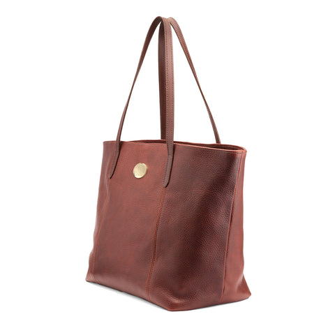 Tusting Banbury Large Leather Tote Bag-Handbags-Sterling-and-Burke
