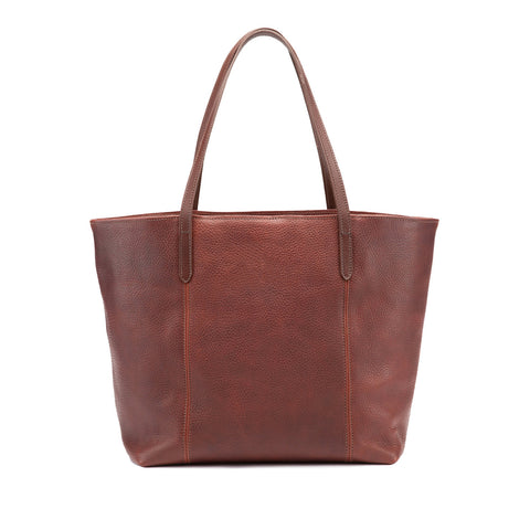 Tusting Banbury Large Leather Tote Bag-Handbag-Sterling-and-Burke