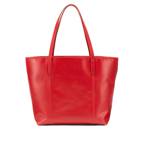 Tusting Banbury Large Leather Tote Bag in Red-Handbag-Sterling-and-Burke