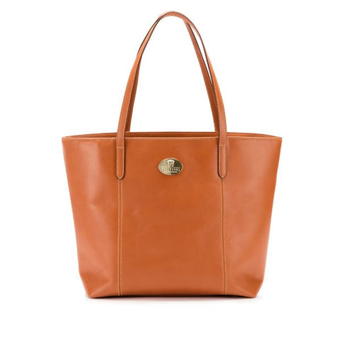 Tusting Banbury Large Leather Tote Bag in Tan