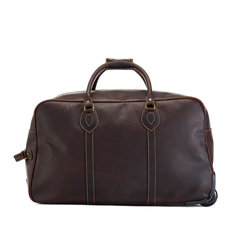 Grand Tourer Leather Duffle Bag | Small | Tusting | Made in England