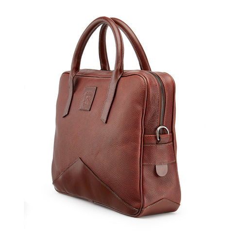 Tusting Langford Leather Brief Bag-Business Bags-Sterling-and-Burke