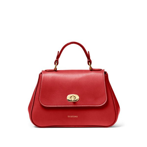 Tusting Mini Holly Handbag in Red