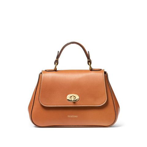 Tusting Mini Holly Handbag in Tan