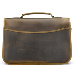 Tusting Clipper Large Leather Laptop Briefcase in Aztec-Business Bags-Sterling-and-Burke