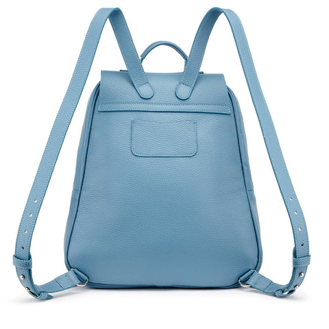 Tusting Eliza Large Leather Backpack / Handbag-Handbag-Sterling-and-Burke