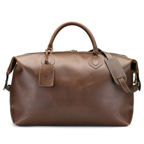 Tusting Explorer Large Leather Duffle Bag