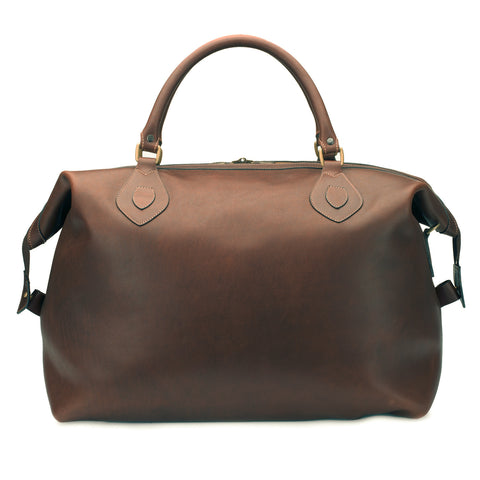 Tusting Explorer Medium Duffle Bag in Sundance Leather