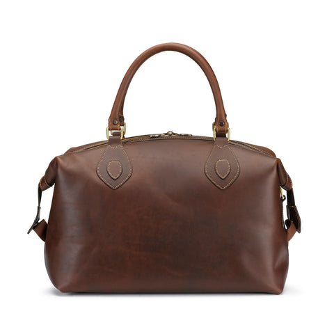 Tusting Explorer Small Leather Duffle Bag