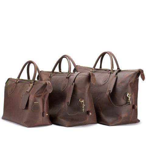 Explorer Holdall Duffle Bag | Small | Various Colors | Tusting | Made in England-Travel Bags-Sterling-and-Burke