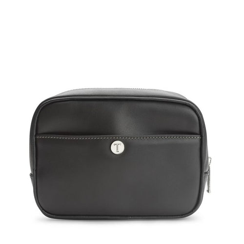 Tusting Harrogate Toiletry Bag in Black-Leather Accessories-Sterling-and-Burke