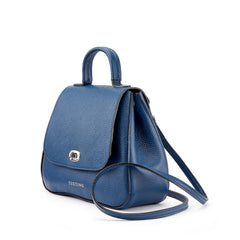 Tusting Holly Leather Handbag in Royal-Handbag-Sterling-and-Burke