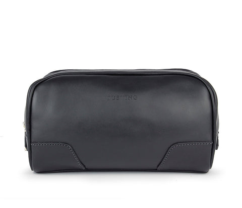 Tusting Hove Toiletry Bag in Black