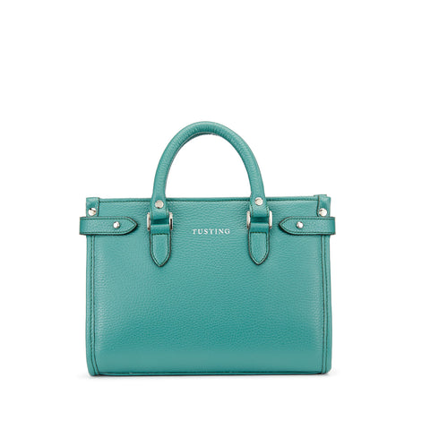 Tusting Kimbolton Mini Leather Handbag in Jade