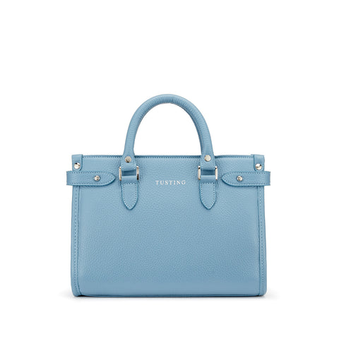 Tusting Kimbolton Mini Leather Handbag in Smoke