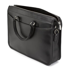 Load image into Gallery viewer, Tusting Marston Large Leather Briefcase in Black-Business Bags-Sterling-and-Burke