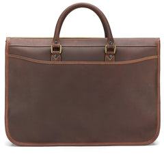 Tusting Marston Large Leather Briefcase in Sundance-Business Bags-Sterling-and-Burke