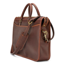 Load image into Gallery viewer, Tusting Marston Large Leather Briefcase in Sundance-Business Bags-Sterling-and-Burke