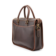 Tusting Marston Small Leather Briefcase-Business Bags-Sterling-and-Burke