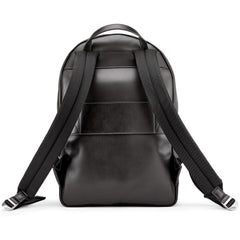 Tusting Seaton Leather Backpack in Black-Business Bags-Sterling-and-Burke