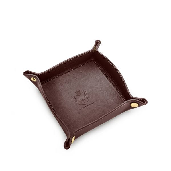 Tusting Travel Tray Chocolate-Travel Accessory-Sterling-and-Burke