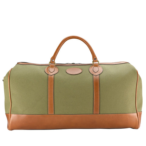 Tusting Weekender Medium Duffle Bag in Olive