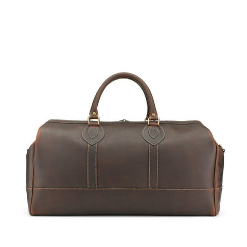 Tusting Weekender Small Duffle Bag in Sundance Leather