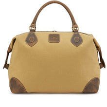 Load image into Gallery viewer, Tusting Explorer Medium Duffle Bag in Safari Canvas-Travel Bags-Sterling-and-Burke