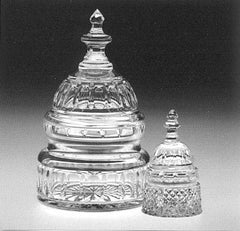Waterford Crystal Capitol Dome Paperweight / Award-Crystal-Sterling-and-Burke