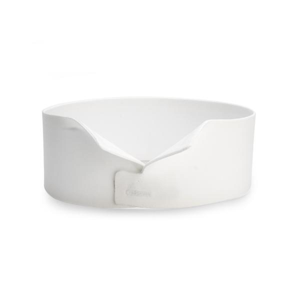 Budd Stiff Wing Carlton Dress Collar in White-Dress Collar-Sterling-and-Burke