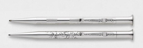 Sterling Silver Writing Instrument Set | The Chapel Royal Wedding Commemorative Set | Prince Harry and Meghan Markle | Absolute Finest Quality Sterling Silver Pen | Made in England | Yard-O-Led