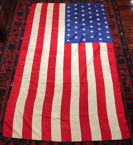"48 Star American Flag | Silk | 36"" x 59"""