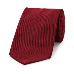 Budd Piccola Grenadine Silk Tie, Various Colors-Necktie-Sterling-and-Burke