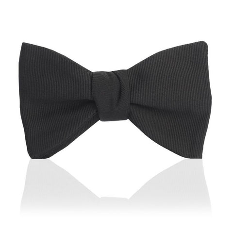 "Budd Faille 2.5"" Thistle Sized Bow Tie in Black"