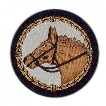 Horse Head Blazer Badge-Blazer Badge-Sterling-and-Burke