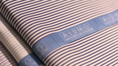 Budd | Made to Measure Shirt | Alumo Swiss Cotton | Soyella Royal Cotton 300s-MTM Shirt-Sterling-and-Burke