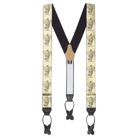 Budd Braces Limited Edition Simon Drew Elemental-Braces / Suspenders-Sterling-and-Burke