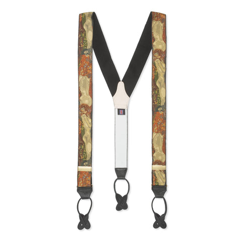 Budd Braces / Suspenders | Limited Edition | Gustav Klimt | Budd Shirtmakers | Made in England