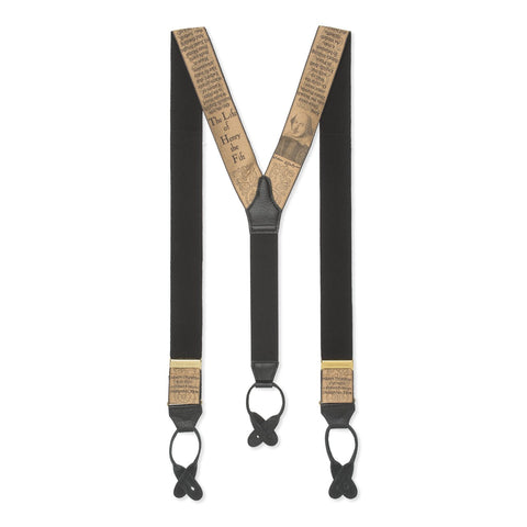 Limited Edition Braces, Life of Henry V | Suspenders | Budd Shirtmakers | Made in England-Braces / Suspenders-Sterling-and-Burke