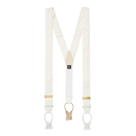 Silk Faille Braces | Suspenders | Budd Shirtmakers | Made in England-Braces / Suspenders-Sterling-and-Burke