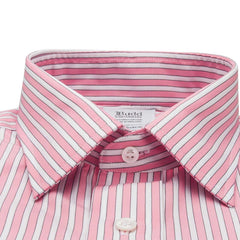 Budd | Made to Measure Shirt | Budd Stripe-MTM Shirt-Sterling-and-Burke